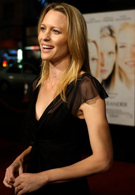 Robin Wright Penn at the premiere of
