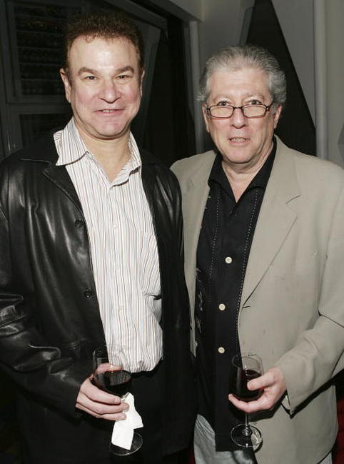 Robert Wuhl and Peter Riegert at the special screening of