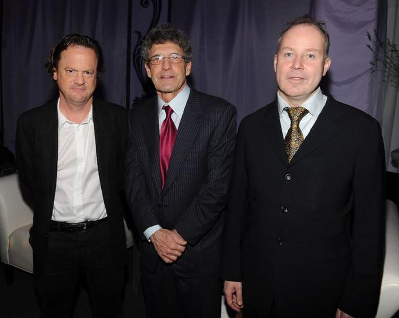 Screenwriter Steve Kloves, Alan Horn and David Yates at the after party of the premiere of