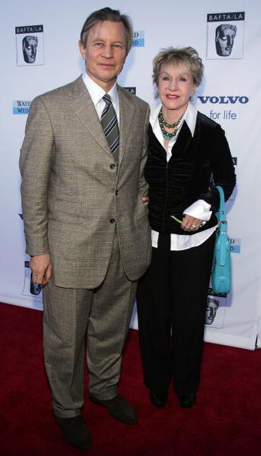 Michael York and Patricia McCallum at the 12th Annual BAFTA/LA Tea Party.