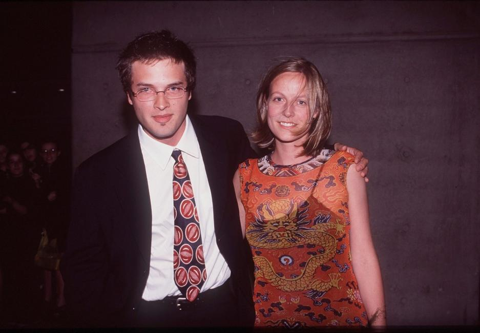 Aden Young and his partner at the AFI AWARDS 1998.