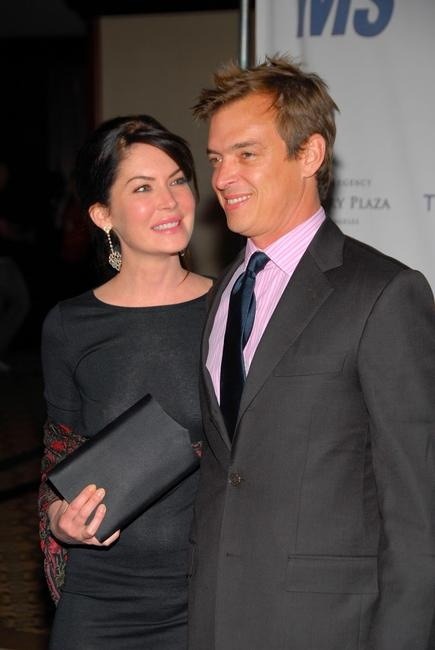 Lara Flynn Boyle and and husband Donald Ray Thomas II at the 14th Annual Race To Erase MS