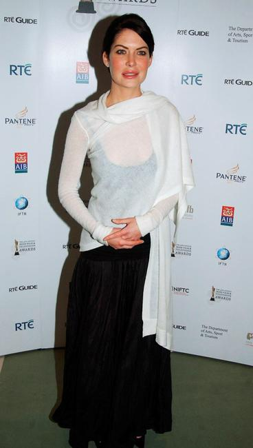 Lara Flynn Boyle at the Irish Film & Televison Awards 2007.