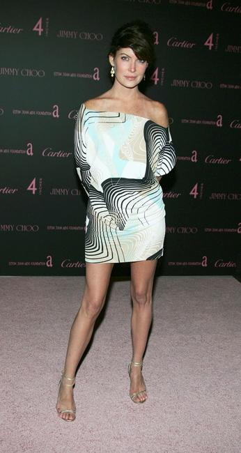 Lara Flynn Boyle at the Jimmy Choo and Cartier Present