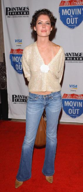 Lara Flynn Boyle at the celebrity gala opening for the national tour of
