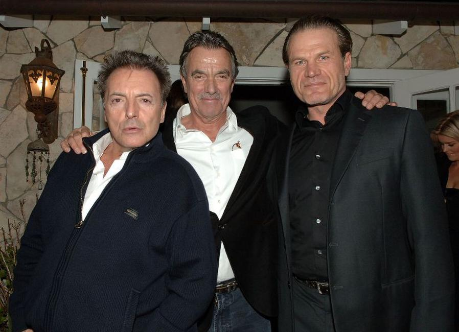 Armand Assante, Eric Braeden and Josh Dempsey at the after party of the premiere of