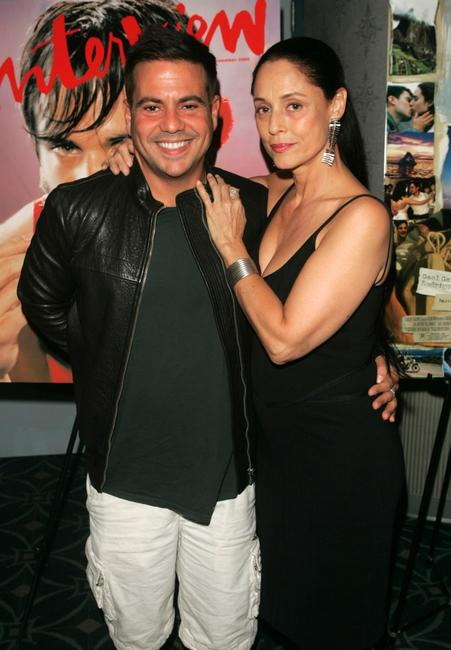 Sonia Braga and Narciso Rodriguez at the premiere of