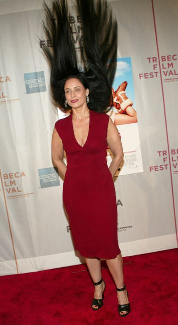 Sonia Braga at the 2004 Tribeca Film Festival, at the screening