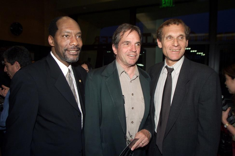 Tony Bill, Jew Don Boney and Jerry Offsay at the premiere screening of