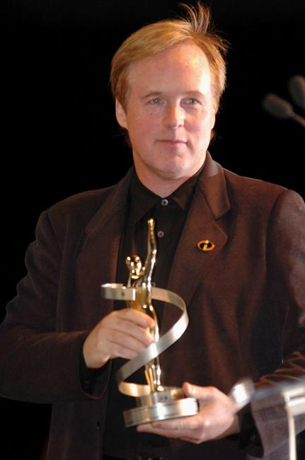 Brad Bird at the ShoWest Award Ceremony.