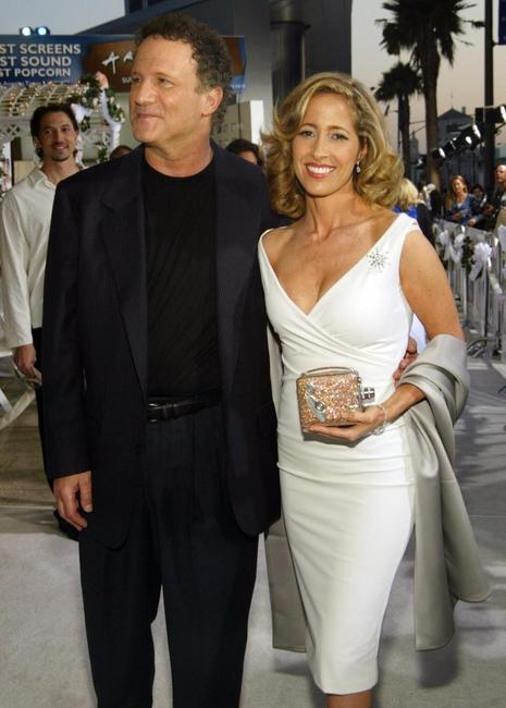 Albert Brooks and Kimberly at Hollywood for premiere of