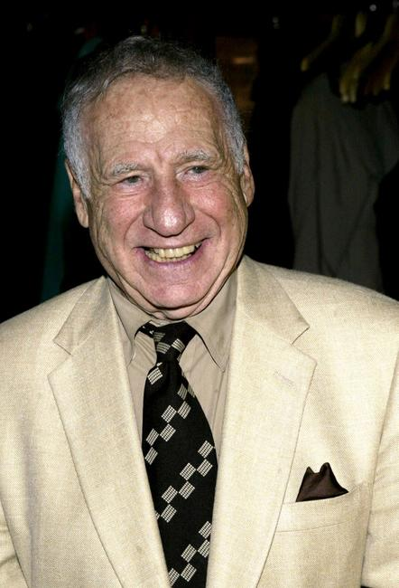 Mel Brooks at West Bank Cafe for the opening night party for
