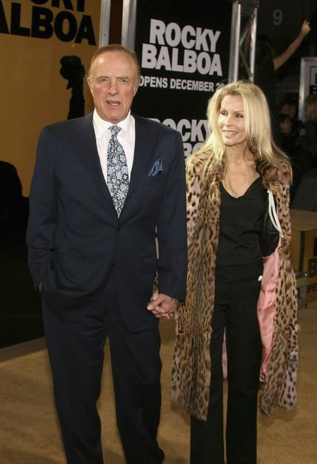 James Caan and Linda Stokes at the Grauman?s Chinese Theater for the premiere of MGMs