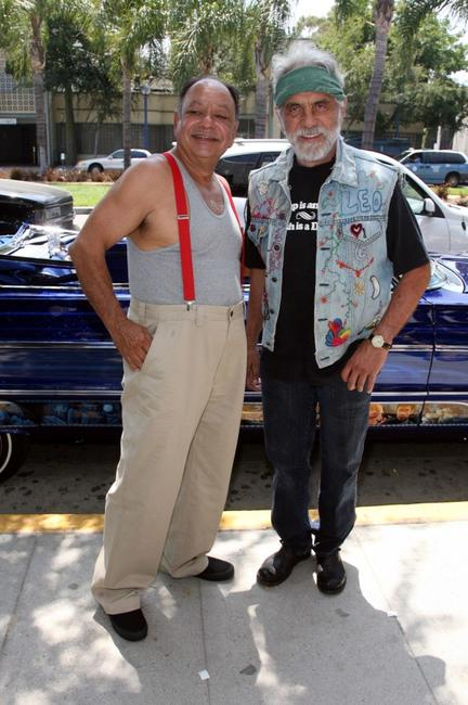 Cheech Marin and Tommy Chong at the upcoming comedy tour