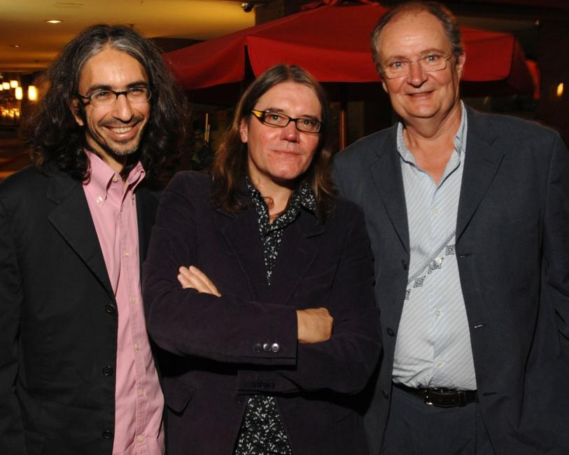 Jim Broadbent, Anand Tucker and Stephen Wooley at the Toronto International Film Festival 2007, attends the Sony Pictures Classics party.