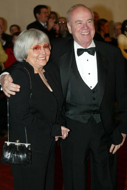 Tim Conway and his wife at the 5th Annual Kennedy Center Mark Twain Prize presentation ceremony.
