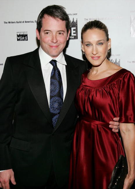 Matthew Broderick and Sarah Jessica Parker at the 59th Annual Writers Guild of America Awards in New York City.
