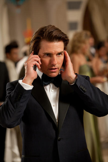 Tom Cruise as Ethan Hunt in ``Mission Impossible -- Ghost Protocol.''