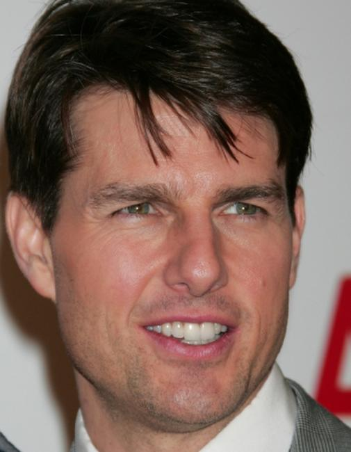 Tom Cruise at the opening of Broad Contemporary Art Museum.