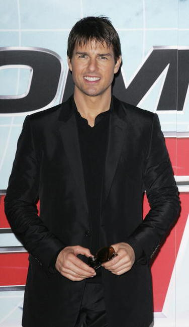"Tom Cruise at the UK premiere of ""Mission: Impossible III"" in London."