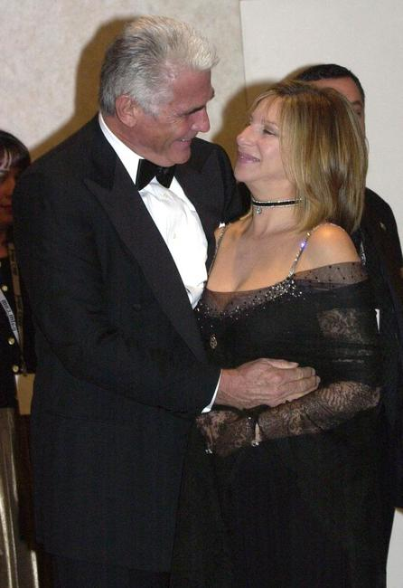 James Brolin and Barbra Streisand at the tribute gala, after receiving the 2001 American Film Institute Life Achievement Award.