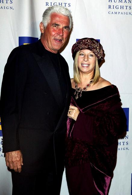 James Brolin and Barbra Streisand at the Human Rights Campaign's Annual Gala honoring Barbra Streisand.