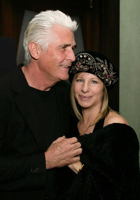 James Brolin and Barbra Streisand at the Showtime's Pre Golden Globe Party.