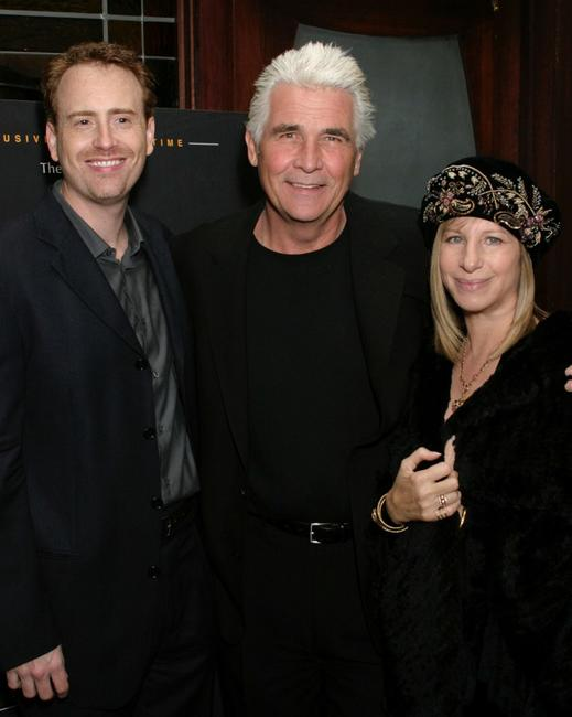 James Brolin, Bob Greenblatt and Barbra Streisand at the Showtime's Pre Golden Globe Party.