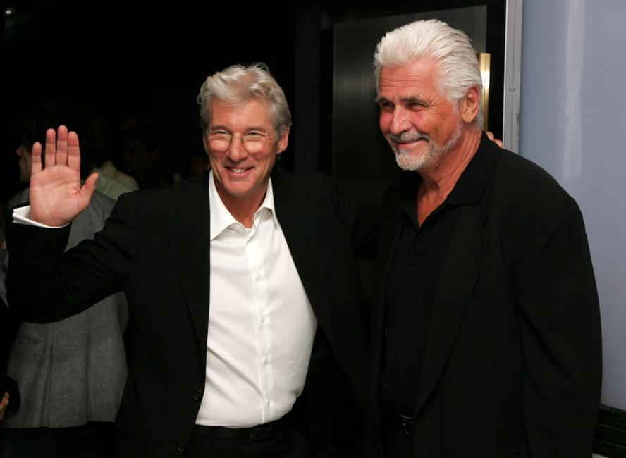 James Brolin and Richard Gere at the premiere of