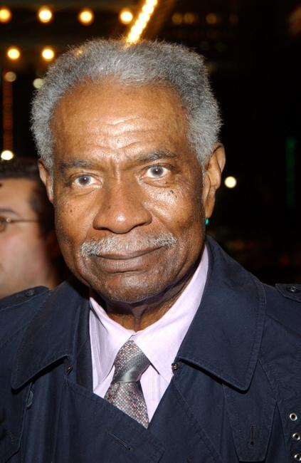 Ossie Davis at the opening of