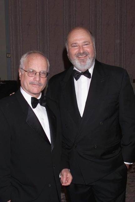 Richard Dreyfuss and Rob Reiner at the New York Friar's Club Roast of Rob Reiner.