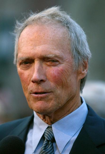 Clint Eastwood at the 75th diamond jubilee celebration for the USC School of Cinema-television.