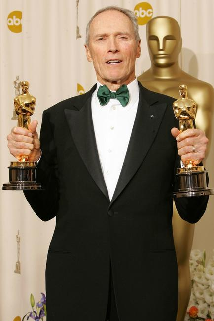 Clint Eastwood at the 77th Annual Academy Awards.