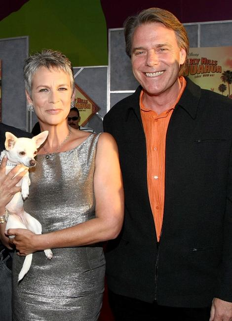 Jamie Lee Curtis and Raja Gosnell at the world premiere of