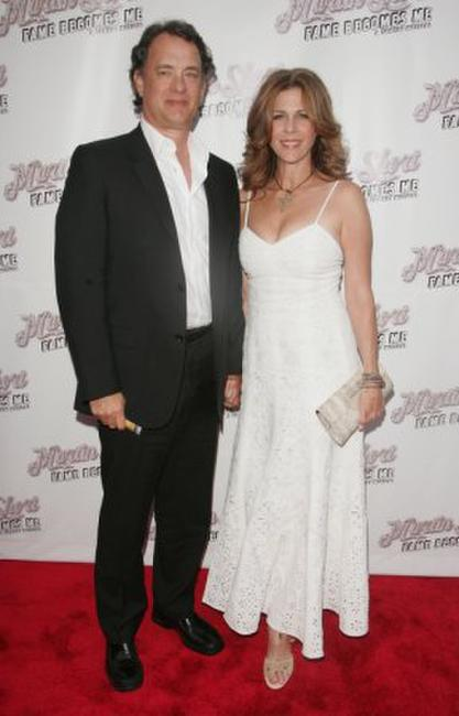 Tom Hanks and Rita Wilson at the New York opening night of