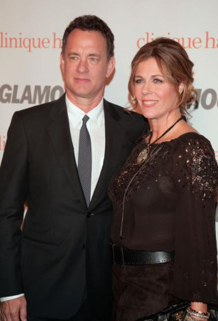 Tom Hanks and Rita Wilson at the Glamour Reel Moments party during the Directors Guild of America.