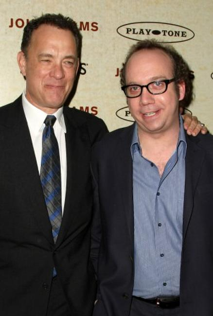 Tom Hanks and Paul Giamatti at the New York premiere of