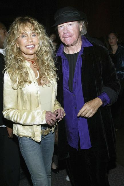 Dyan Cannon and Henry Jaglom at the premiere of