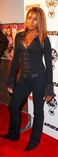 A.J. Johnson at the Smooth Pre-BET party.