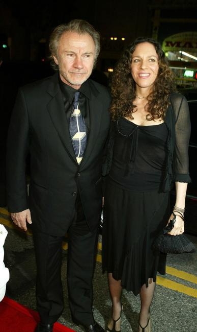Harvey Keitel and Daphna Kastner at the premiere of