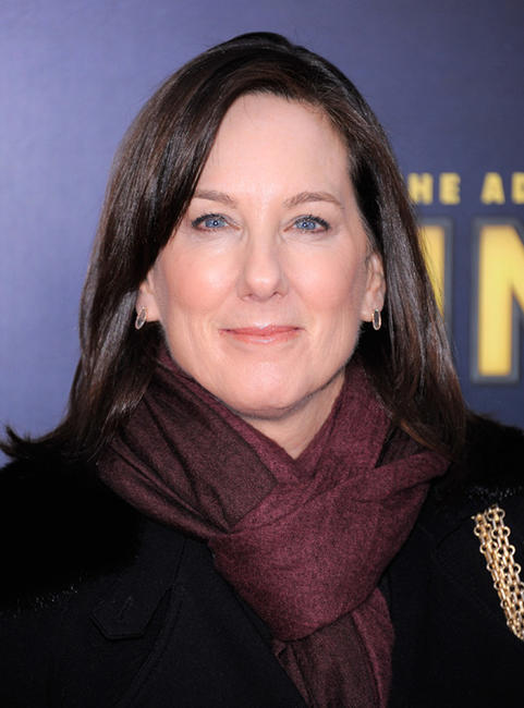 Producer Kathleen Kennedy at the New York premiere of