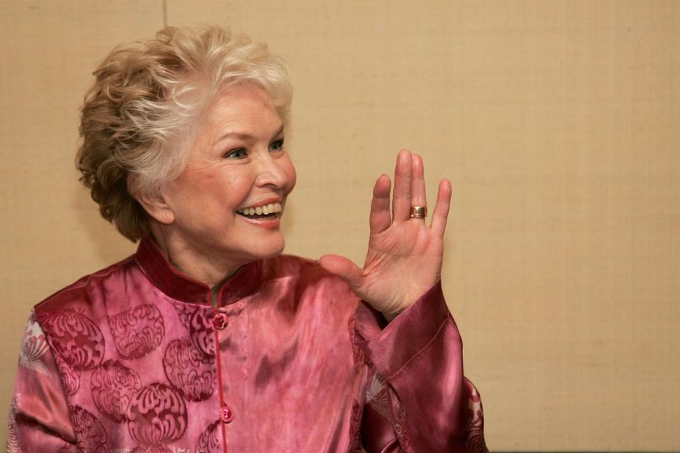 Ellen Burstyn at the celebration of book