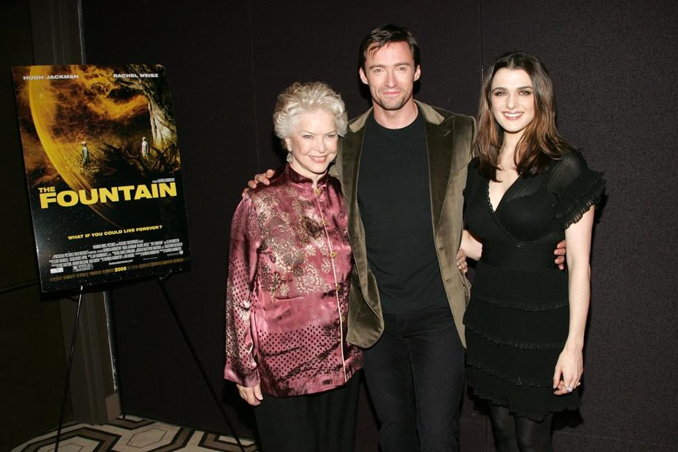 Ellen Burstyn, Hugh Jackman and Rachel Weisz at the premiere of