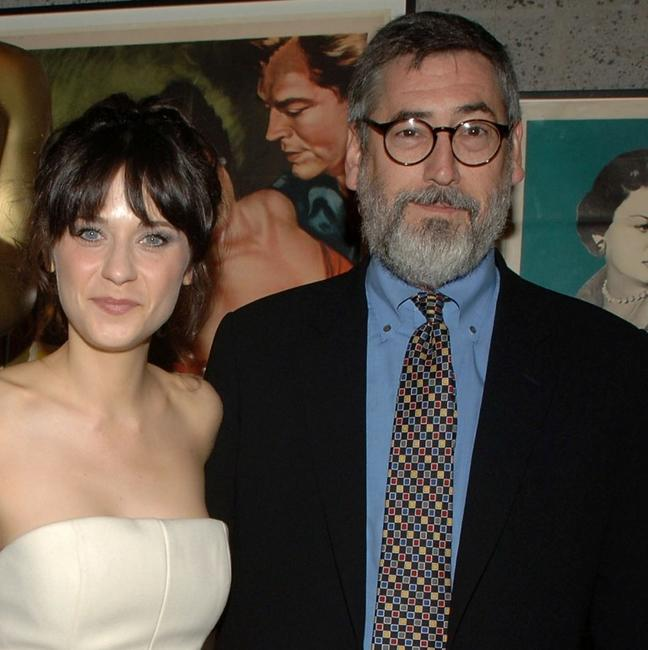 Zooey Deschanel and John Landis at the 34th Annual Student Academy Awards Ceremony.