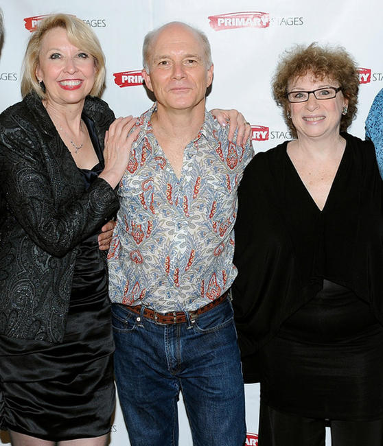 Julie Halston, Dan Butler and Marcia Jean Kurtz at the after party of the opening night of