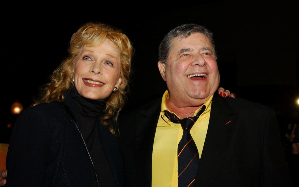 Jerry Lewis and Stella Stevens at the California premiere of