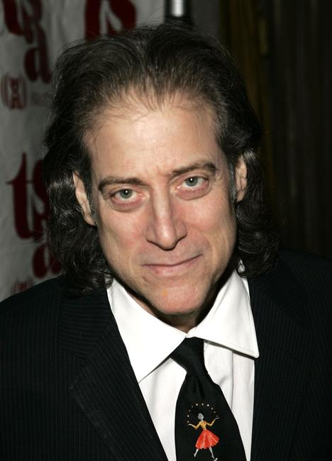 Richard Lewis at the Tourette Syndrome Association Champion of Childrens Award.