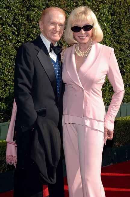 Red Buttons and Guest at the 2005 Creative Arts Emmy Awards.