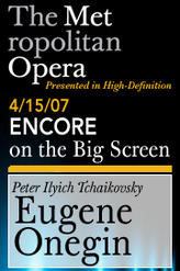Eugene Onegin Encore showtimes and tickets
