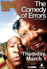 National Theater Live: The Comedy of Errors showtimes and tickets